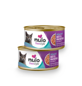 Nulo Nulo Cat Can Minced Beef & Mackerel 3oz