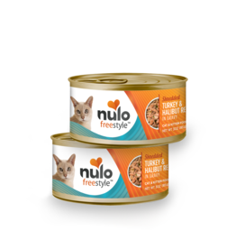 Nulo Nulo Cat Can Shredded Turkey & Halibut 3oz