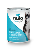 Nulo Nulo Freestyle Wet Dog Food Turkey, Salmon, & Chickpeas Recipe 13oz Can Grain Free