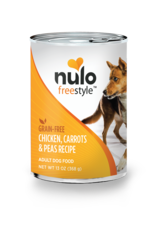 Nulo Nulo Freestyle Wet Dog Food Chicken, Carrots, & Peas Recipe 13oz Can Grain Free