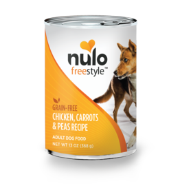Nulo Nulo Dog Can Chicken Carrots & Peas 13oz
