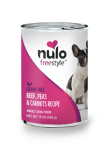 Nulo Nulo Freestyle Wet Dog Food Beef, Peas, & Carrots Recipe 13oz Can Grain Free