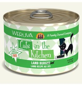 Weruva Weruva Cat CITK Can Lamb Burgerini 6oz