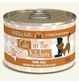 Weruva Weruva Cat CITK Can Fowl Ball 6oz