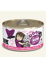 Weruva BFF Weruva B.F.F. Best Feline Friend Originals Wet Cat Food Twosome Tuna & Tilapia Dinner in Gelée 3oz Can