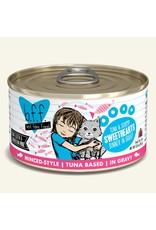 Weruva BFF Weruva B.F.F. Best Feline Friend Originals Wet Cat Food Sweethearts Tuna & Shrimp Dinner in Gravy 3oz Can