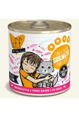 Weruva BFF Weruva B.F.F. Best Feline Friend Originals Wet Cat Food Soulmates Tuna & Salmon Dinner in Gelée 10oz Can