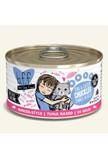 Weruva BFF Weruva B.F.F. Best Feline Friend Originals Wet Cat Food Chuckles Tuna & Chicken Dinner in Gelée 3oz Can