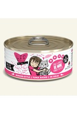 Weruva BFF Weruva B.F.F. Best Feline Friend Originals Wet Cat Food Be Mine Tuna & Bonito Dinner in Gelée 5.5oz Can