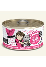 Weruva BFF Weruva B.F.F. Best Feline Friend Originals Wet Cat Food Be Mine Tuna & Bonito Dinner in Gelée 3oz Can