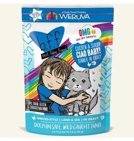 Weruva BFF BFF OMG Cat Ciao Baby 2.8oz Pouch
