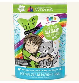 Weruva BFF BFF OMG Cat  Shazaaam 2.8oz Pouch
