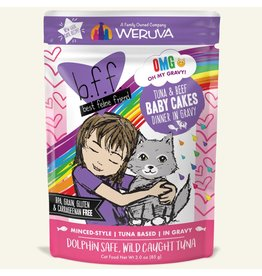 Weruva BFF BFF OMG Cat Baby Cakes 2.8oz Pouch