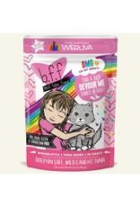 Weruva BFF Weruva B.F.F. OMG Best Feline Friend Oh My Gravy Wet Cat Food Devour Me Tuna & Duck Dinner in Gravy 2.8oz Pouch