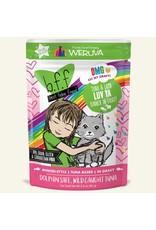Weruva BFF Weruva B.F.F. OMG Best Feline Friend Oh My Gravy Wet Cat Food Luv Ya Tuna & Lamb Dinner in Gravy 2.8oz Pouch