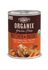 Castor & Pollux Castor & Pollux Organix Wet Dog Food Butcher & Bushel Organic Chicken Wing & Thigh Dinner With Sweet Potatoes In Gravy 12.7oz Can Grain Free