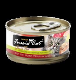 Fussie Cat Fussie Cat Can Tuna Salmon 2.8oz