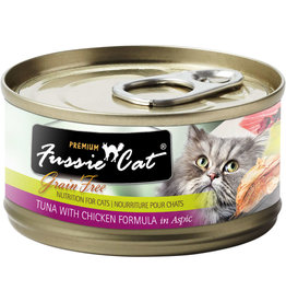 Fussie Cat Fussie Cat Can Tuna Chicken 2.8oz