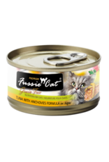 Fussie Cat Fussie Cat Wet Cat Food Tuna with Anchovies Formula in Aspic 2.8oz Can Grain Free