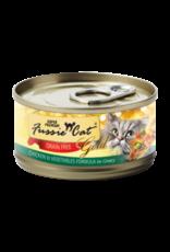 Fussie Cat Fussie Cat Gold Wet Cat Food Chicken & Vegetables Formula In Gravy 2.8oz Can Grain Free