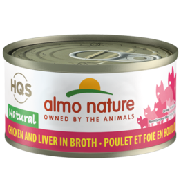Almo Nature Almo Natural Cat Can Chicken & Liver 2.47oz