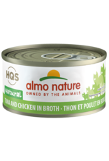 Almo Nature Almo Nature HQS Natural Wet Cat Food Tuna and Chicken in Broth 2.47oz Can Grain Free