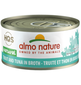 Almo Nature Almo Natural Cat Can Trout & Tuna 2.47oz
