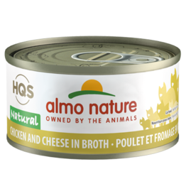 Almo Nature Almo Natural Cat Can Chicken & Cheese 2.47oz