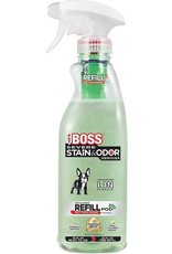 Becles Pet Boss Severe Stain & Odor Remover Formula 32oz Bottle with Refill Pod