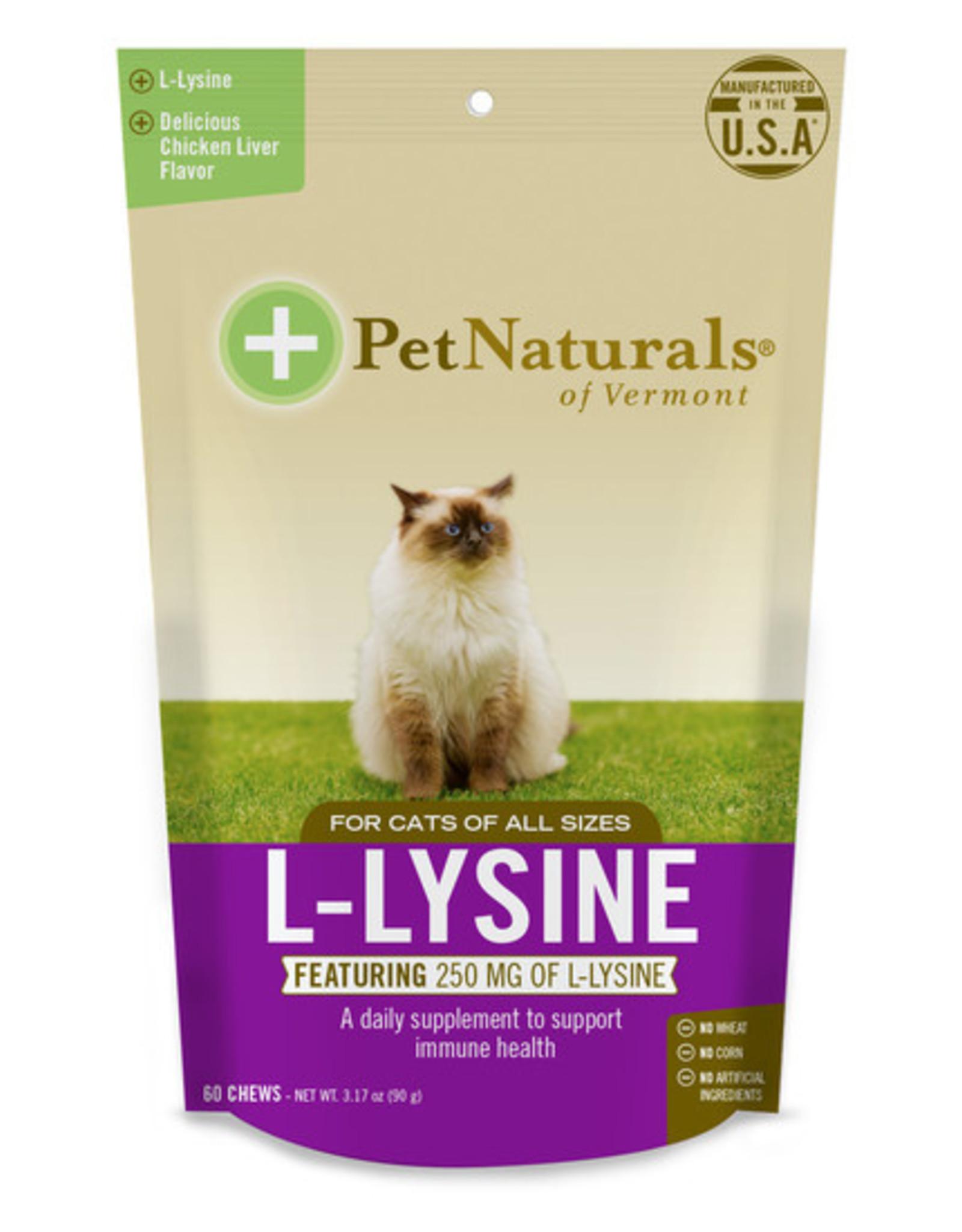 Pet Naturals Pet Naturals of Vermont Cat L-Lysine Chews 60ct