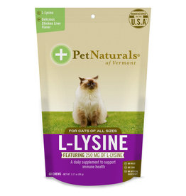 Pet Naturals Pet Naturals Cat L-Lysine Chews 60ct