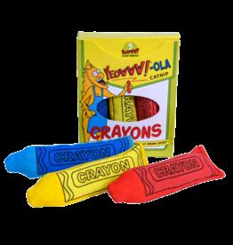 Yeowww! Yeowww!-ola Catnip Crayons 3pk