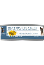 Dave's Pet Food Dave's Wet Cat Food Restricted Magnesium & Phosphorus Pork Dinner 5.5oz Can Grain Free