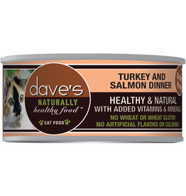 Dave's Pet Food Dave's Cat Can Turkey & Salmon 5.5oz
