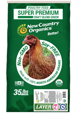 New Country Organics New Country Organic Soy-Free Chicken Feed Layer Pellet 35lb