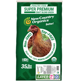 New Country Organics New Country Organic Chicken Feed Layer Pellet 35lb