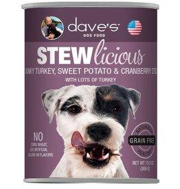 Dave's Pet Food Dave's Dog Can Stew Turkey Sweet Potato Cranberry 13oz