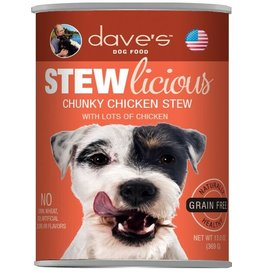 Dave's Pet Food Dave's Dog Can Stew Chunky Chicken 13oz