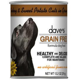 Dave's Pet Food Dave's Dog Can Turkey Sweet Potato in Gravy 13oz