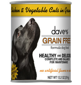 Dave's Pet Food Dave's Dog Can Chicken Vegetables in Gravy 13oz
