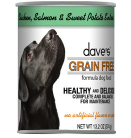 Dave's Pet Food Dave's Dog Can Chicken Salmon Sweet Potato 13oz