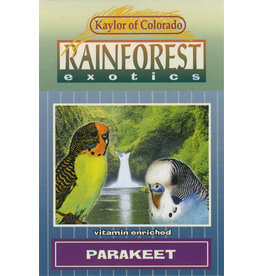 Kaylor of Colorado Kaylor Rainforest Exotics Parakeet Food
