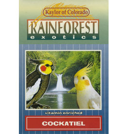 Kaylor of Colorado Kaylor Rainforest Exotics Cockatiel Food