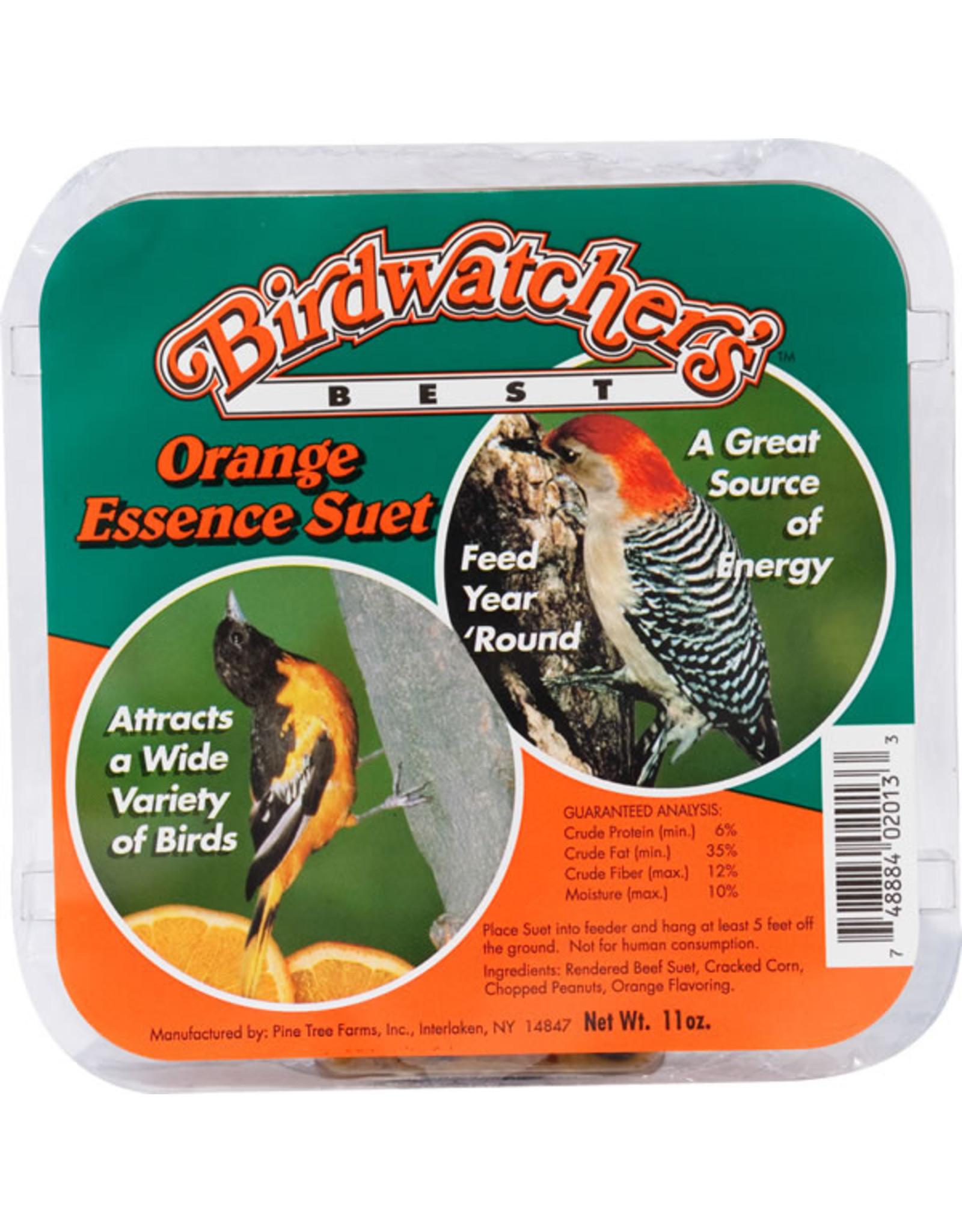 Birdwatchers Best Birdwatcher's Best Suet Orange Essence 11oz