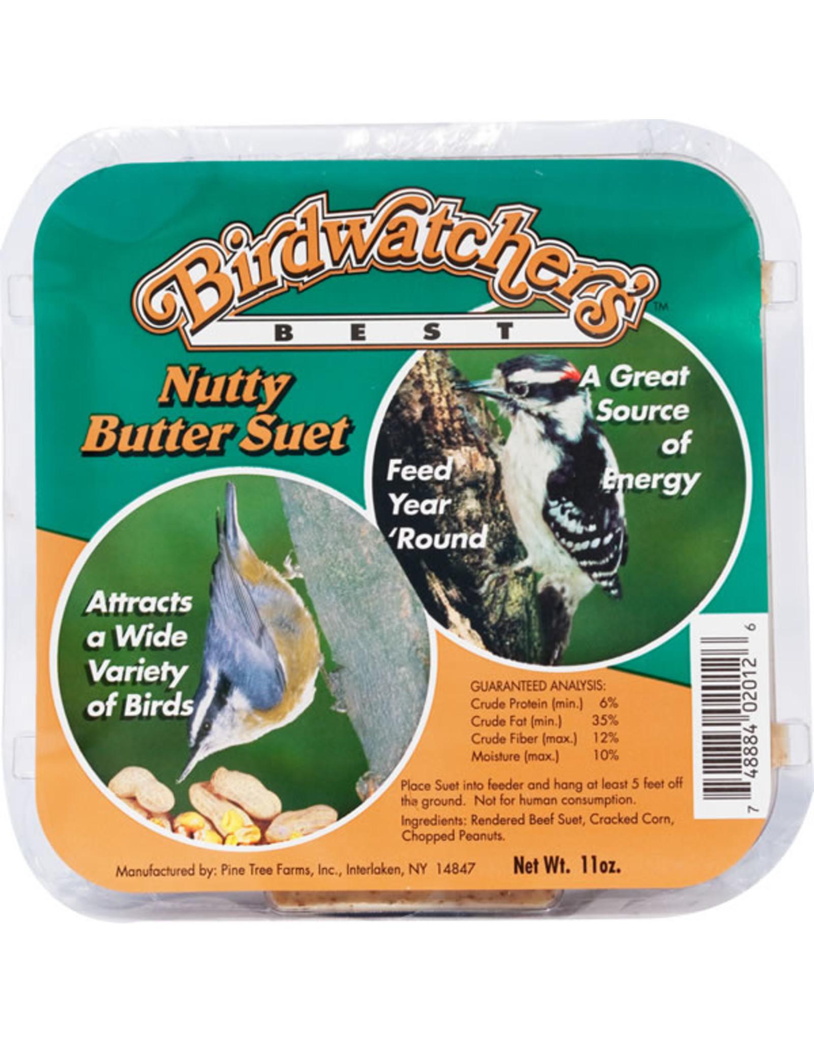 Birdwatchers Best Birdwatcher's Best Suet Nutty Butter 11oz