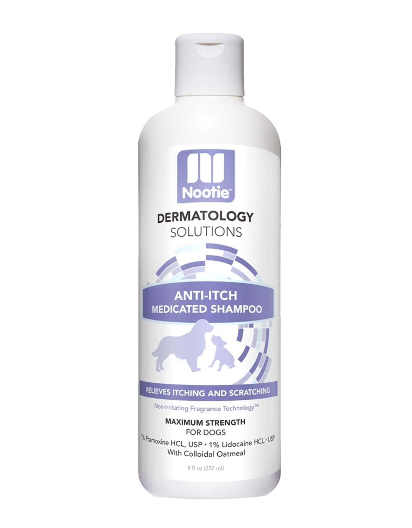 Nootie Nootie Dermatology Solutions Anti-Itch Medicated Shampoo Cucumber Melon 8oz