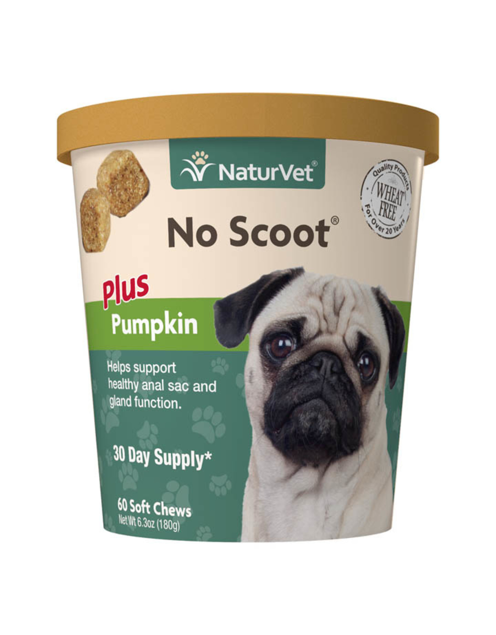 naturVet NaturVet No Scoot plus Pumpkin Chew - 60ct, 120ct