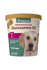 naturVet NaturVet Glucosamine DS Maintenance Care Level 1 Joint Health Chew for Dogs and Cats 70ct