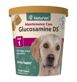 naturVet NaturVet Glucosamine DS Level 1 Chew 70ct