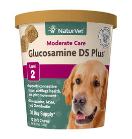 naturVet NaturVet Glucosamine DS+ Level 2 Chew 70ct